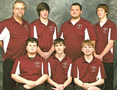 2011-2012 badger boys bowling team